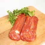 chorizo-sliced